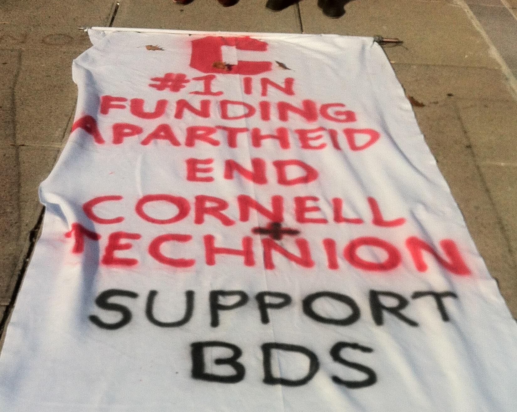 Cornell anti-Israel