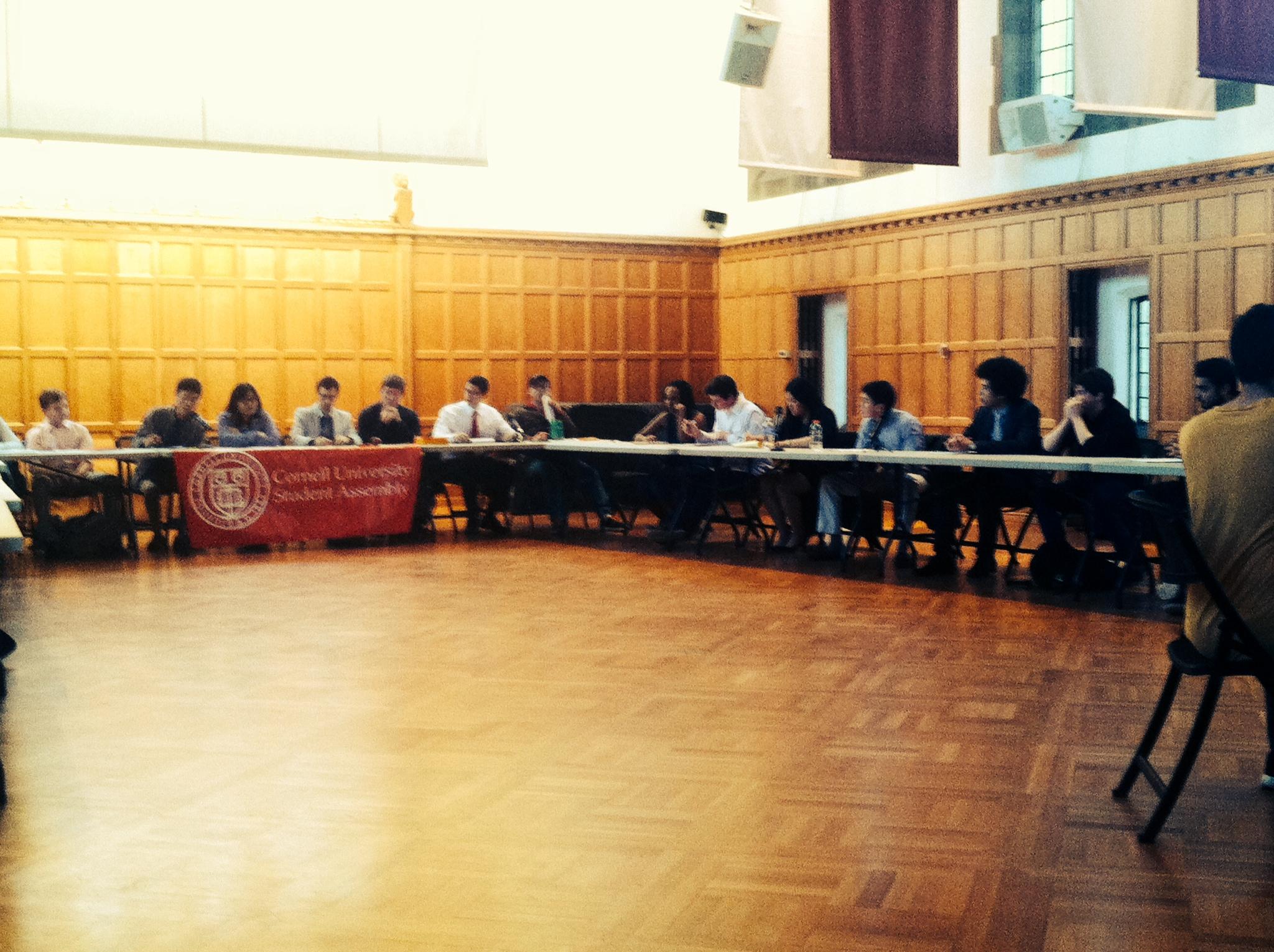 Candidates Prepare for SA Forum